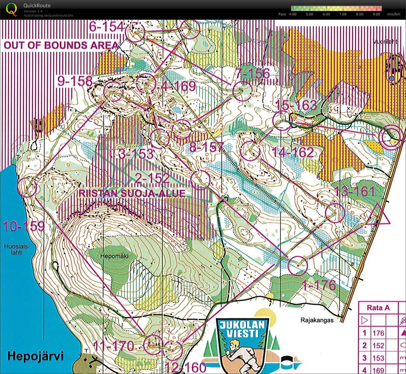 Last o-session before Jukola 12.6