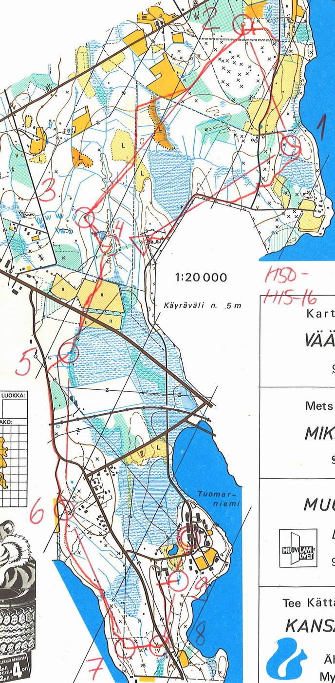 My Doma Digitaalinen Kartta Arkisto Ahtarin Kansalliset H16 7