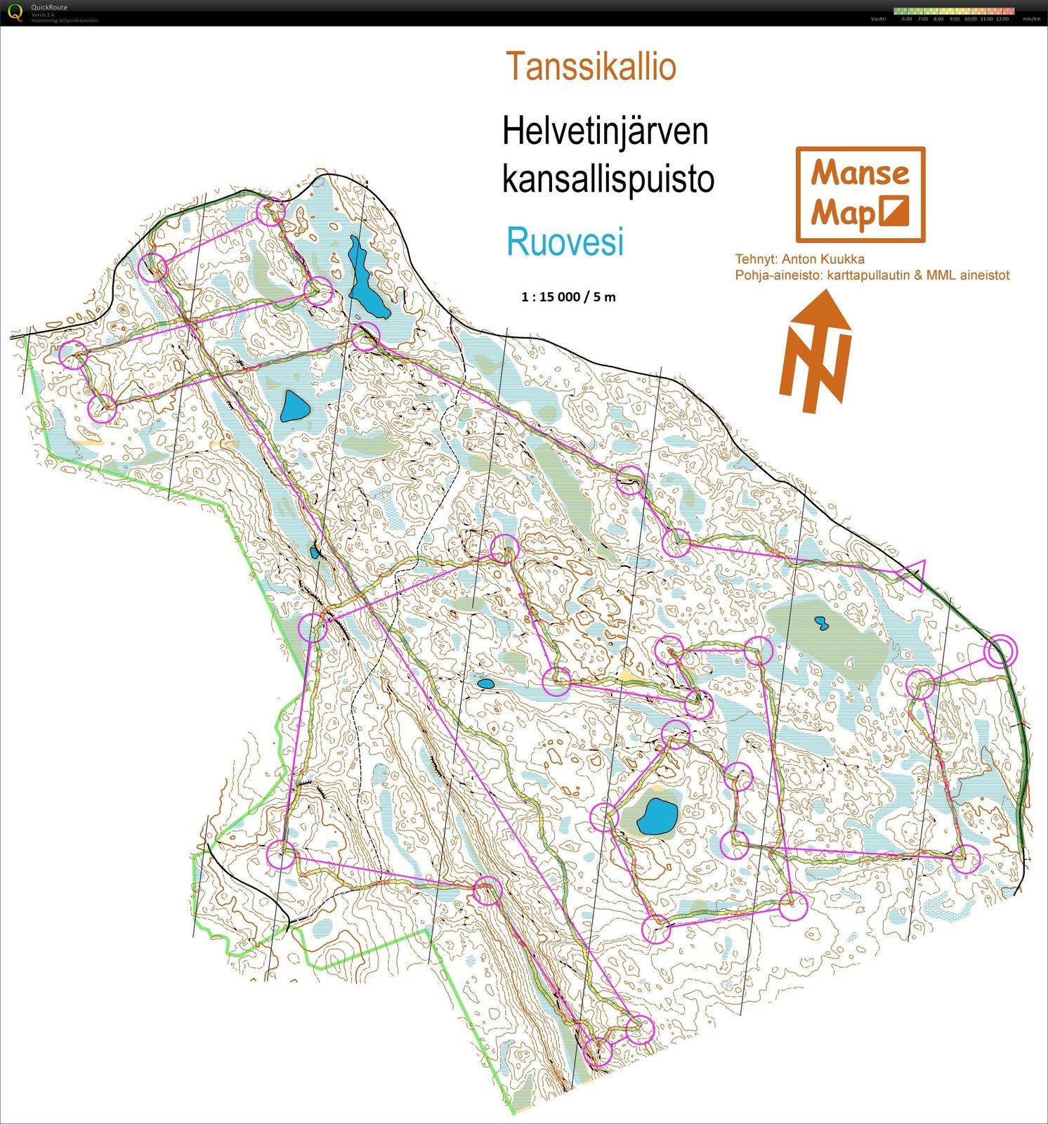 My Doma Digitaalinen Kartta Arkisto Tanssikallio Pitka 05 08 2015