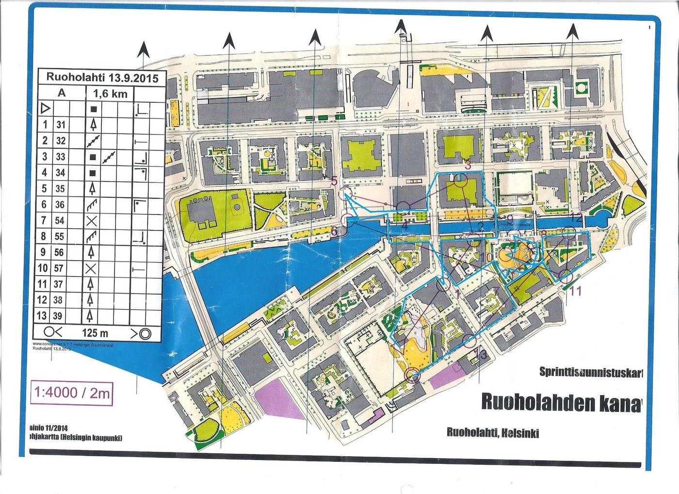 My Doma Digitaalinen Kartta Arkisto Ruoholahti A 13 09 2015