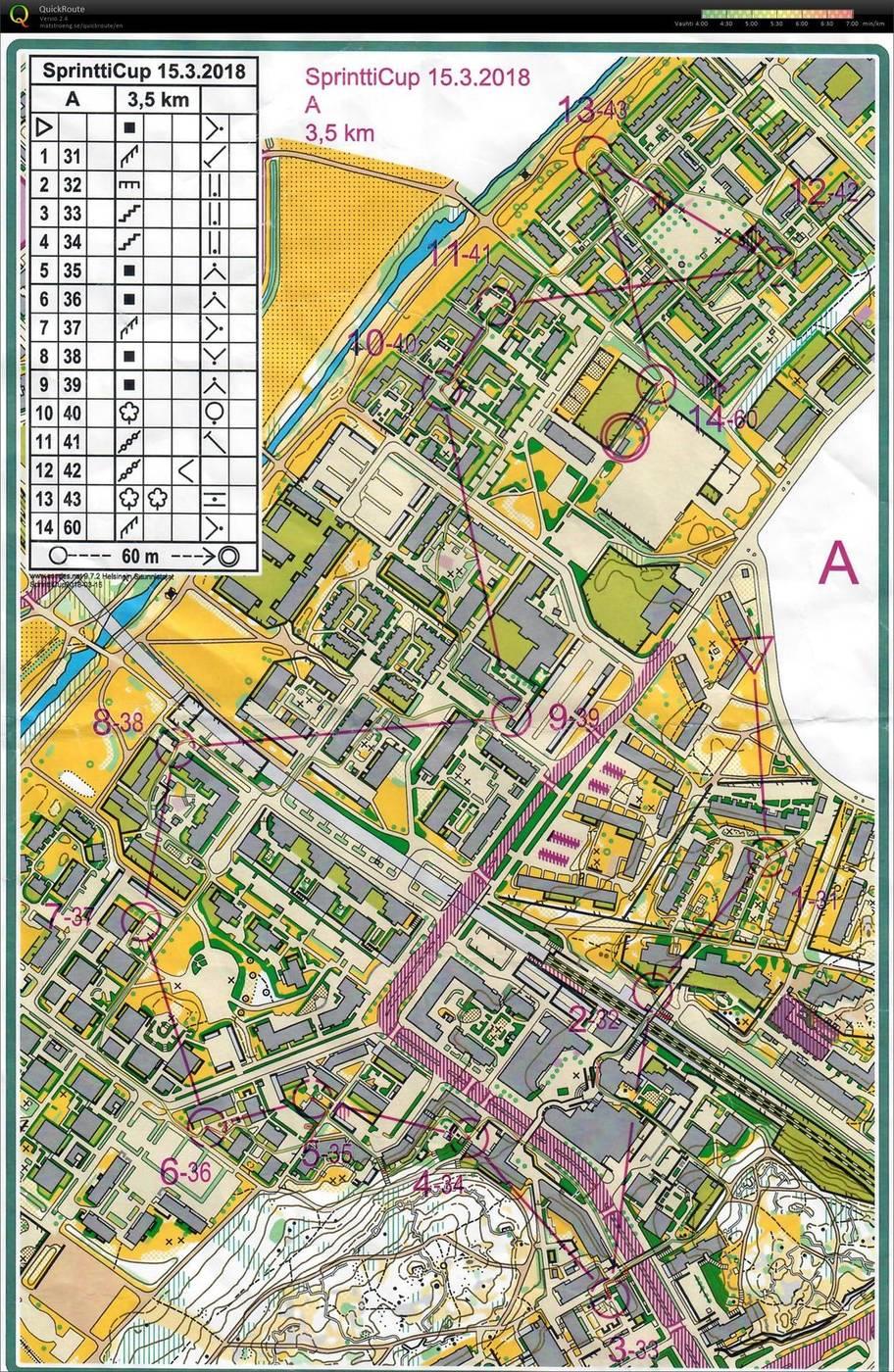 My Doma Digitaalinen Kartta Arkisto Sprintticup Kannelmaki 15