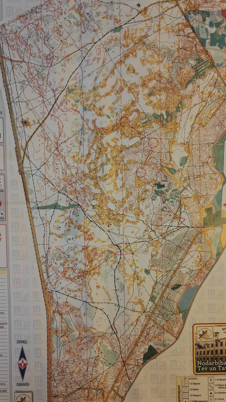 Hanksu Latvia 18 7 April 12th 2018 Orienteering Map From