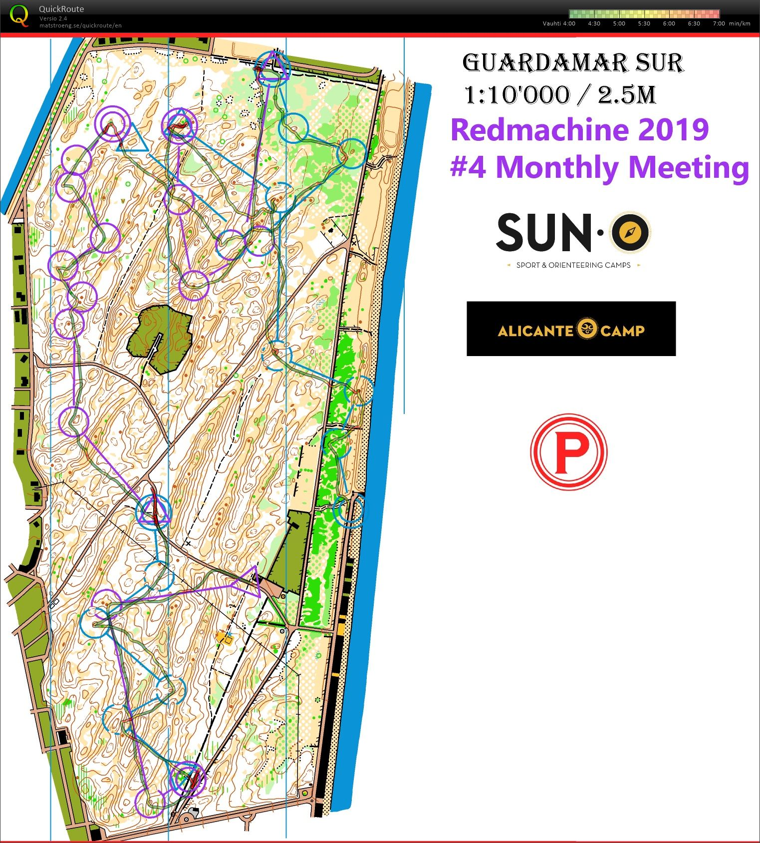 Monthly Meeting 6*1km (15/02/2019)