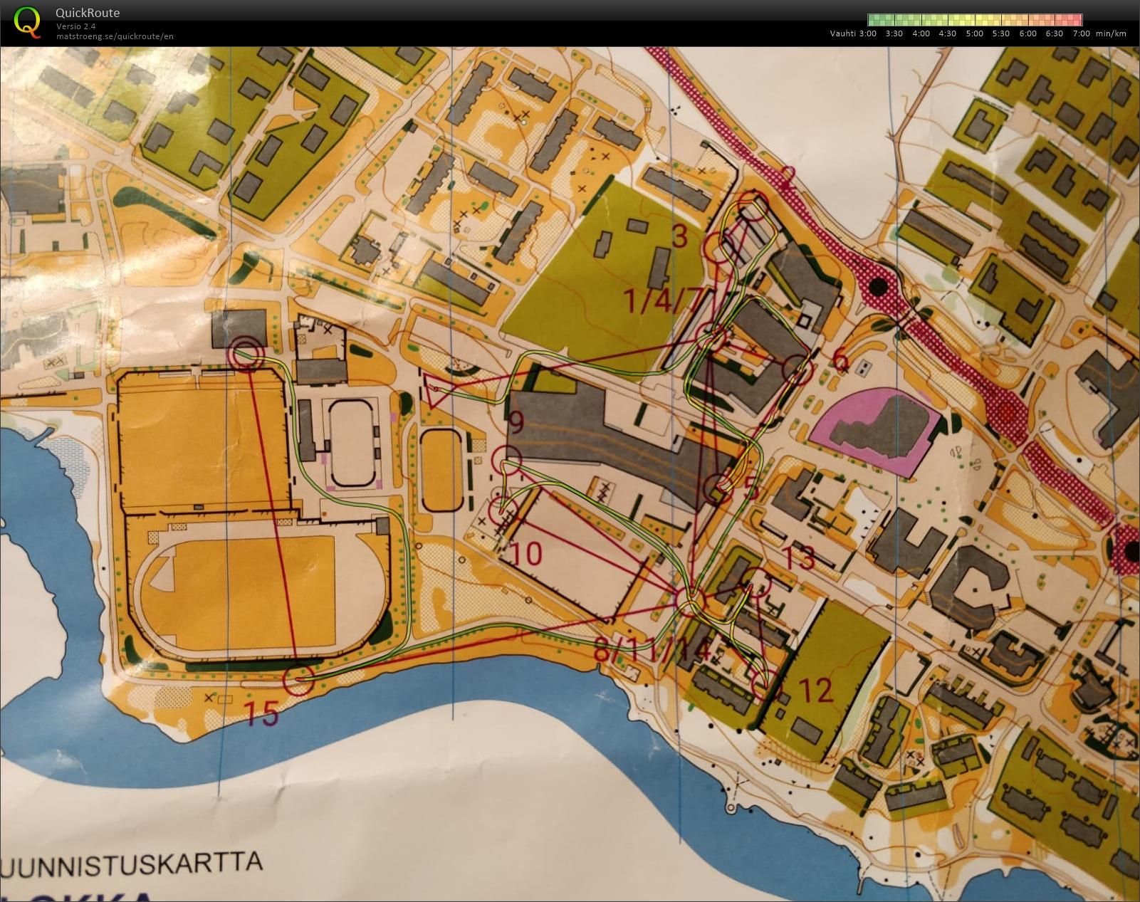 My Doma Digitaalinen Kartta Arkisto Knockout Sprintti Valiera